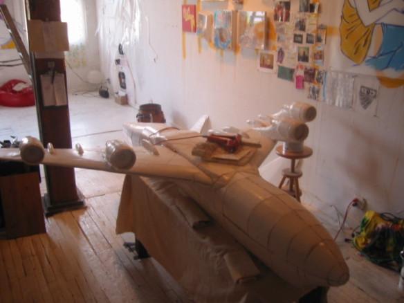 tom sachs aimee art studio